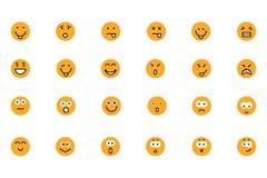 Smiley Colored Vector Icons 2 Lizenzfreies Stockbild