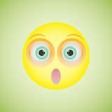 Smiley com uma emoção embaraçado Ilustração do vetor ilustração do vetor