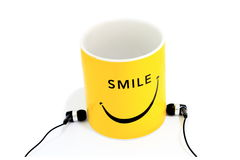 Smiley cup Royalty Free Stock Images