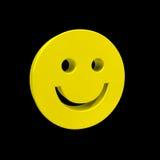 smiley 3D Photo libre de droits