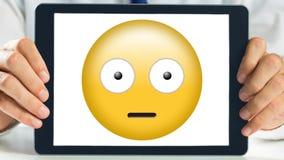 Smiley de la demostración de la tableta de Digitaces