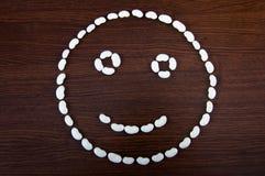 Smiley de la haba Fotos de archivo libres de regalías