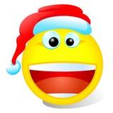 Smiley de Noël Photographie stock libre de droits