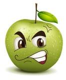 Smiley de pomme d'envie illustration stock