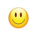 Smiley de sourire avec les yeux mignons Photo stock