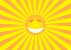 Smiley de Sun Imagen de archivo