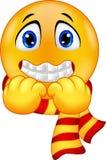 Smiley de tremblement Photo libre de droits