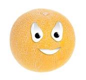 Smiley del melone Immagini Stock Libere da Diritti