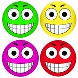 Smiley del smiley del vector Imagenes de archivo