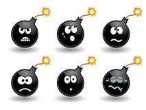 Smiley della bomba? royalty illustrazione gratis