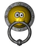Smiley doorknocker Stock Photography