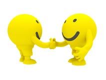 Smiley due Immagine Stock Libera da Diritti