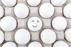 Smiley Egg Foto de Stock Royalty Free