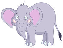 Smiley elephant Stock Photography