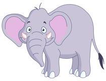 Smiley elephant Stock Photography