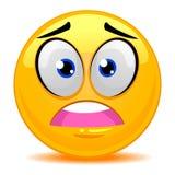 Smiley Emoticon Okaleczająca twarz ilustracja wektor