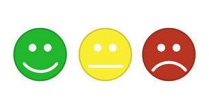 Smiley emoticons icon Royalty Free Stock Photos