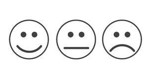 Smiley emoticons icon Stock Images