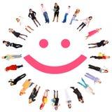 Smiley engraçado Imagem de Stock
