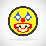 Smiley espeluznante del payaso Libre Illustration