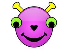 Smiley estrangeiros Imagem de Stock