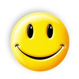 Smiley Face. Digital illustration of a Button Smiley Face stock illustration