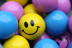 Smiley Face Ball Royalty Free Stock Photos