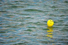 Smiley face balloon Stock Image