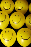 Smiley face balloons Royalty Free Stock Image