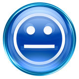 Smiley Face blue Royalty Free Stock Photos