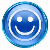 Smiley Face blue Stock Photo