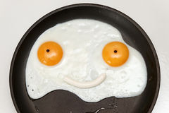 Smiley Face Breakfast Royalty Free Stock Photo