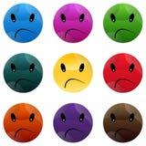 Smiley Face Button. Stock Photos
