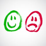 Smiley face cartoon Royalty Free Stock Image