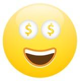 Smiley Face With Cash Imagen de archivo