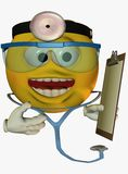 Smiley face doctor Stock Photography