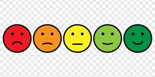 Free Smiley Face Icon Set Royalty Free Stock Images - 115826589