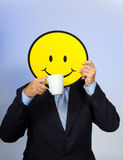 Smiley Face Man Royalty Free Stock Images