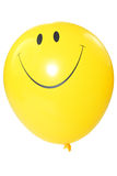 Smiley faced balloon Royalty Free Stock Photography