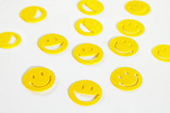 Smiley faces Stock Photo