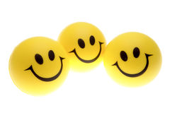 Smiley faces Royalty Free Stock Photos