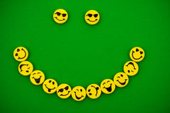 Smiley Faces Stock Image