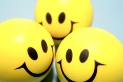 Smiley faces Stock Photography