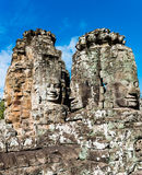 Smiley Faces of Bayon Temple(Angkor Wat) Royalty Free Stock Image
