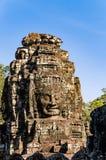 Smiley Faces del templo de Bayon (Angkor Wat) Imágenes de archivo libres de regalías
