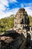 Smiley Faces del templo de Bayon (Angkor Wat) Imagen de archivo libre de regalías