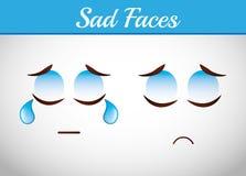 Smiley faces design Stock Photography