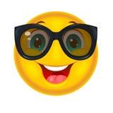 Smiley feliz en gafas de sol libre illustration