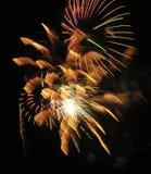 Smiley-Feuerwerke stockbilder