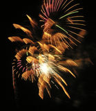 Smiley Fireworks Stock Images